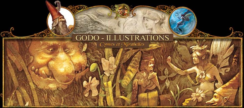 Illustration Conte De Fée godo – illustration & feerie | l'univers des contes de fées et de la