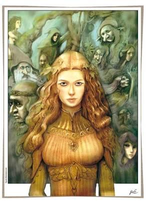 illustration-godo-reine-elfe-et-feeriques